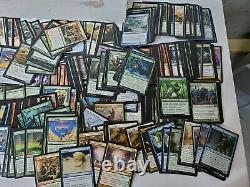 11K+ 41+lbs! Magic the Gathering Collection 2 Flat Rate Boxes With200 Rares &Foils