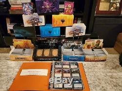 11,000+ 50+ lbs Magic the Gathering collection Foils, Rare, Mystic, Uncom & Com