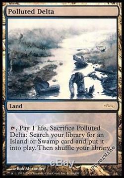 1 PROMO FOIL Polluted Delta Land Judge Mtg Magic Rare 1x x1