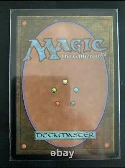 1x Carte Magic Mtg Black Lotus Altered & Signed by Rush No Original Foil Print