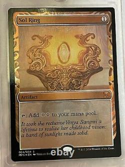 1x FOIL Sol Ring Unplayed Mint Kaladesh Masterpiece Inventions MTG