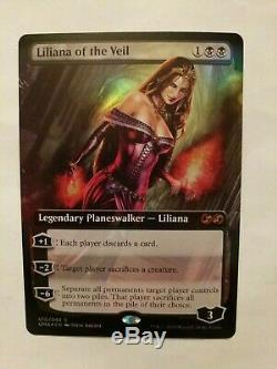 1x Foil Magic the Gathering MtG Ultimate Box Toppers Liliana of the Veil Mint/NM