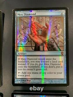 1x Foil Mox Diamond (4 available) From the Vault Relics Near Mint