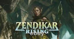 1x Foil Premium ZNR Zendikar Rising Full Complete Set Sealed MtG