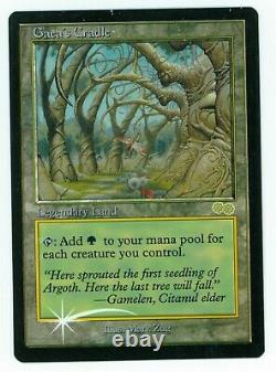 1x Judge FOIL Gaea's Cradle Promotion card (see high res photos)