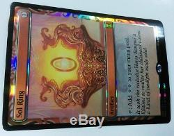 1x MTG Sol Ring FOIL Masterpiece Kaladesh Inventions NM