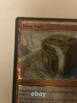 1x Mana Vault Foil x1 Masterpiece Series Kaladesh Inventions Near Mint, E