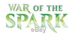 1x War of the Spark Complete Set Foil Factory Sealed MTG Seattle