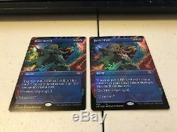 2x Force of Will Foil Borderless Showcase Double Masters MTG Magic the Gathering
