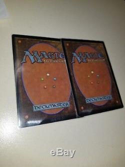 2x Judge FOIL Force of Will MTG magic promo NM/LP