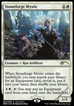 4 PROMO FOIL Stoneforge Mystic Grand Prix Mtg Magic Rare 4x x4