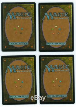 4x FOIL THOUGHTSEIZE LORWYN MTG Magic the Gathering Very rare and hard to find