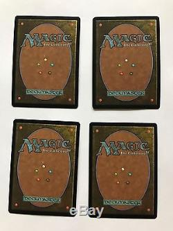4x Path to Exile FOIL JAPANESE WPN NM MTG Magic the Gathering Promo
