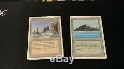 Assorted mtg lands, Dual Lands, Fetch, Gemstone, Foil Temple, Rishadan
