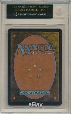 BGS 10 BLACK LABEL MTG Magic Gathering Battlebond FOIL True-Name Nemesis PRISTIN