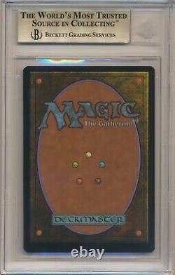 BGS 9.5 MTG Magic Double Masters Borderless FOIL Mana Crypt QUADS++ GEM MINT