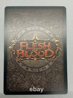 Cold Foil Eclipse Monarch First Ed. Gradable! Legendary Flesh and Blood FAB