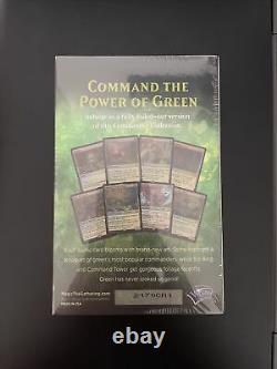 Commander Collection Green Premium Foil Edition