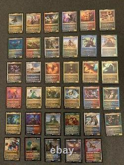 Commander Legends FOIL ETCHED Complete Set 1x Ea Foil Etched Card (101 total)