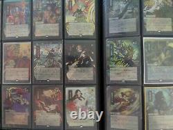 Complete Set Japanese Foil Mystical Archives 63 Cards! MtG Strixhaven