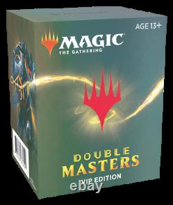 Double Masters VIP Booster Case Factory Sealed 16 Packs