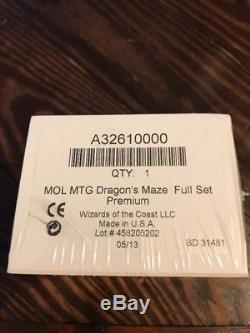 Dragon's Maze Foil Set Premium Sealed NIB Magic