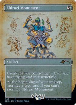 Eldrazi Monument MtG SLD-603 Blueprint Secret Lair Bonus Card (M/NM, Sealed)