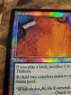 FOIL City of Traitors Exodus Test Print MTG Magic Blue