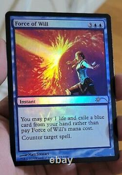 FOIL Force of Will Judge Promo MTG