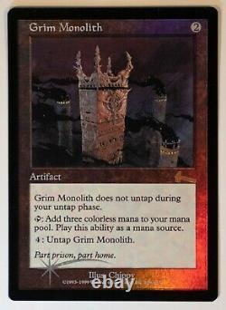 FOIL Grim Monolith Magic the Gathering MTG LP English
