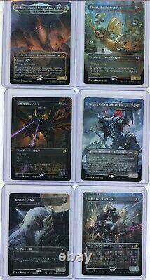 FOIL Ikoria Collector's Godzilla 18 Card Set of First Print Pack Fresh! MTG