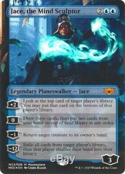 FOIL JACE, THE MIND SCULPTOR Masterpiece Series Mythic Edition Planeswalker NM