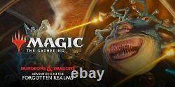 FOIL MtG D&D Adventures in the Forgotten Realms Complete Full Set Sealed PRESALE