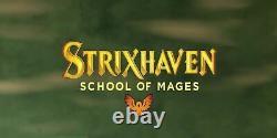 FOIL PREMIUM Strixhaven School of Mages Full Complete Set Sealed MtG