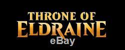 FOIL PREMIUM THRONE OF ELDRAINE Full Set Complete Factory Sealed ELD Magic MTG