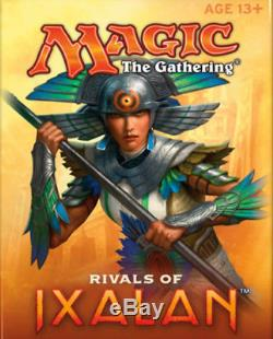 FOIL Rivals of Ixalan Complete Set With Mythics Factory Sealed RIX