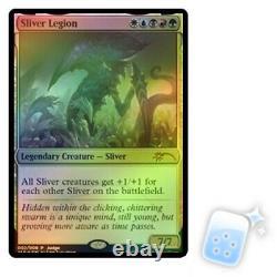 FOIL SLIVER LEGION (JUDGE) Promo Magic MTG MINT CARD