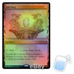 FOIL SOL RING Masterpiece Series Kaladesh Inventions Magic MTG MINT CARD