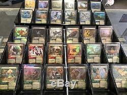FOIL -Throne Of Eldraine Showcase Card 30 Card FOIL Set Brazen, Murderous Rider