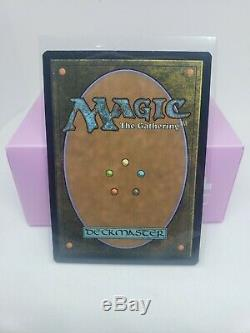 FOIL full art showcase Force of Will Double Masters