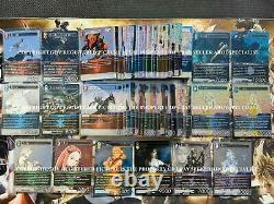 Final Fantasy TCG Lot Complete Foil Set Opus 1 2 3 4 5 6 7 8 9 10 11 BV = $4121