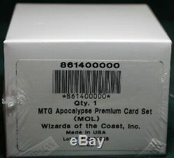 Foil Apocalypse Complete Set Factory Sealed MTG MOL Magic