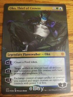 Foil Extended Art Oko, Thief Of Crowns