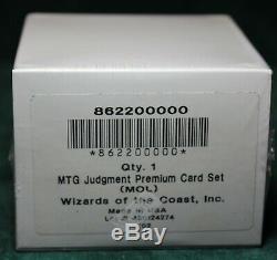 Foil Judgment Complete Set Factory Sealed MTG MOL Magic