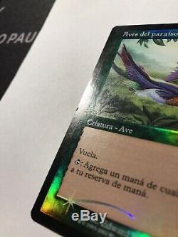 Foil Spanish 7th Edition Birds Of Paradise Premodern Middle School MTG BOP 3