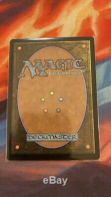 Force of Will Borderless FOIL Double Masters VIP MTG Magic Showcase Box Topper