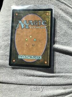 Force of Will Borderless MTG Authentic NM Foil Double Masters Pack Fresh