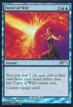Force of Will (Judge Promo) Near Mint Foil English Promotional Cards Magic Card