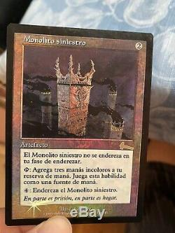 Grim Monolith Foil Foreign Monolito Sinister x1