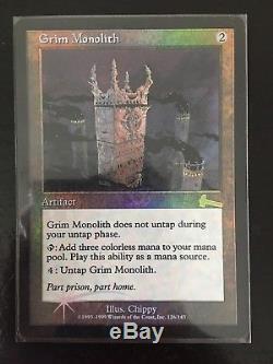Grim Monolith MTG Urza's Legacy Foil SP